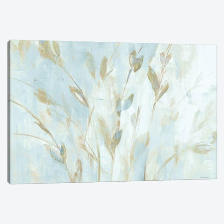 Soft Misty Leaves Canvas Print #LNL470} by Lanie Loreth Canvas Wall Art