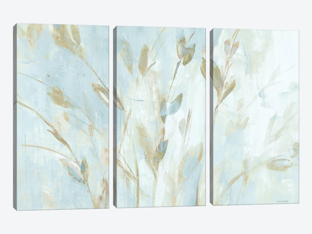Soft Misty Leaves by Lanie Loreth 3-piece Canvas Art