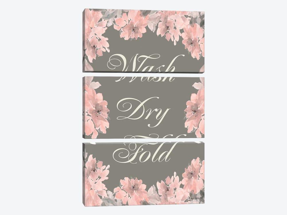 Wash Dry Fold by Lanie Loreth 3-piece Art Print