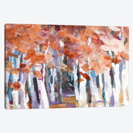 Autumn Rhythm Canvas Print #LNL481} by Lanie Loreth Canvas Print