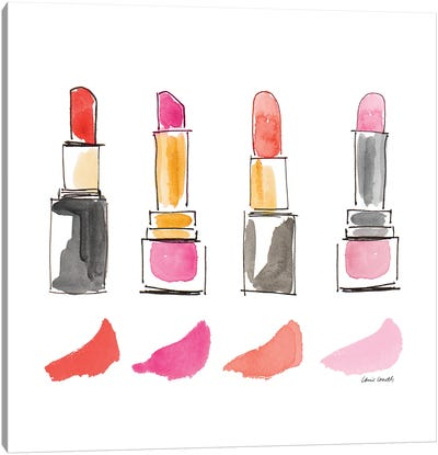 Beauty Products Square I Canvas Art Print
