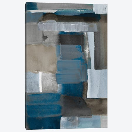 Blue Taupe Light II Canvas Print #LNL486} by Lanie Loreth Canvas Artwork