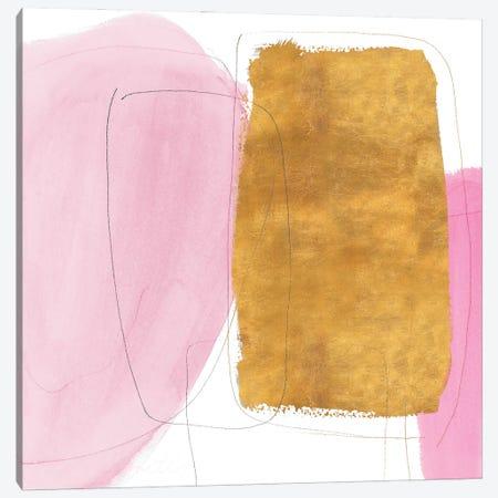 Blushing Gold I Canvas Print #LNL487} by Lanie Loreth Canvas Wall Art