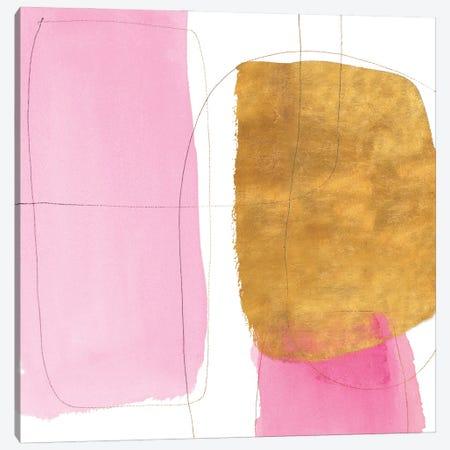 Blushing Gold II Canvas Print #LNL488} by Lanie Loreth Canvas Art Print