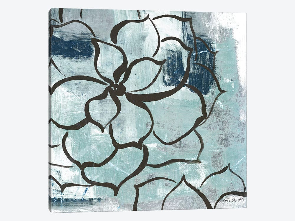 Cool Vision Floral I by Lanie Loreth 1-piece Canvas Print