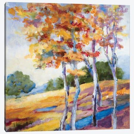 Briskly Autumn Canvas Print #LNL492} by Lanie Loreth Canvas Wall Art