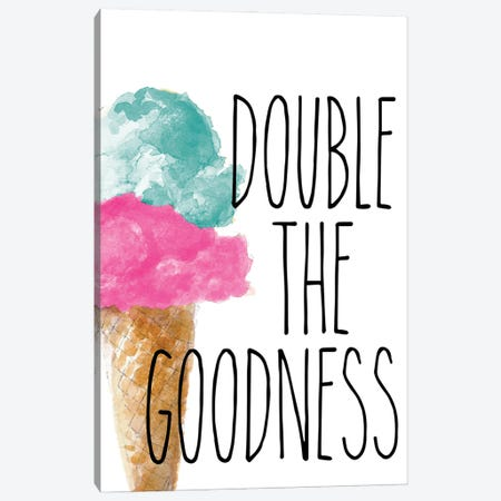 Double the Goodness Canvas Print #LNL495} by Lanie Loreth Canvas Art Print