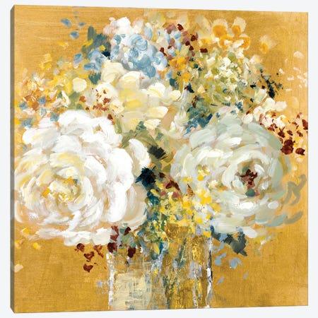 Floral Peace Canvas Print #LNL496} by Lanie Loreth Canvas Art Print