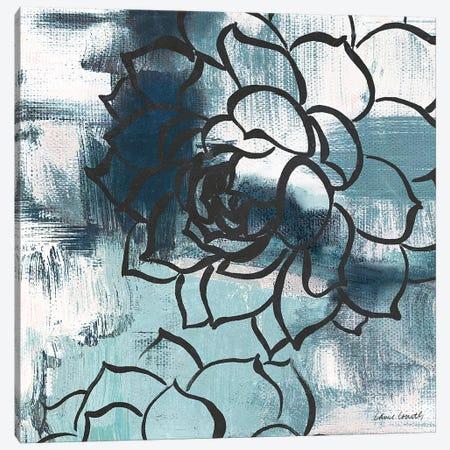Cool Vision Floral II Canvas Print #LNL49} by Lanie Loreth Canvas Art Print