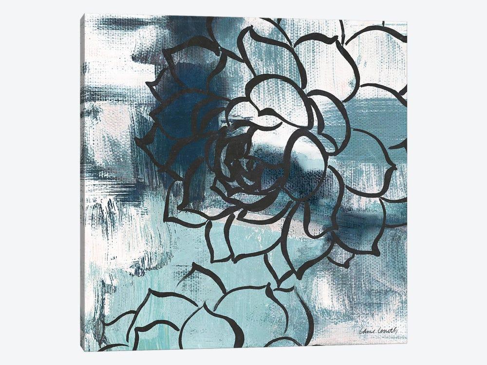 Cool Vision Floral II by Lanie Loreth 1-piece Canvas Art