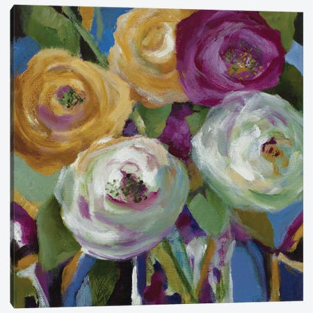Garden Gems Canvas Print #LNL500} by Lanie Loreth Canvas Artwork