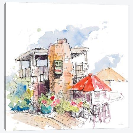 Old Town Tavern Canvas Print #LNL514} by Lanie Loreth Canvas Art