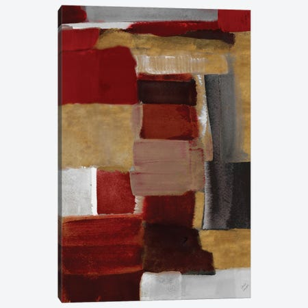 Red and Gold Light II 3-Piece Canvas #LNL517} by Lanie Loreth Canvas Art