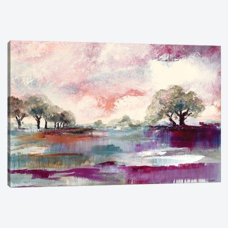 Rusty Sunset Canvas Print #LNL519} by Lanie Loreth Canvas Print