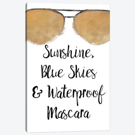 Waterproof Mascara Canvas Print #LNL530} by Lanie Loreth Canvas Art Print