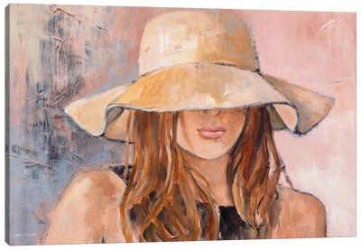 Woman in Hat Canvas Art Print