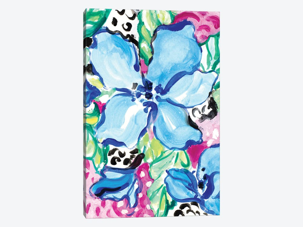 Blooming Blues by Lanie Loreth 1-piece Art Print