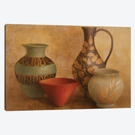 Decorative Vessel Still Life I Canvas Print #LNL541} by Lanie Loreth Canvas Artwork
