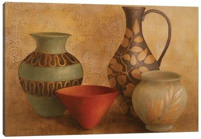 Decorative Vessel Still Life I Canvas Art Print