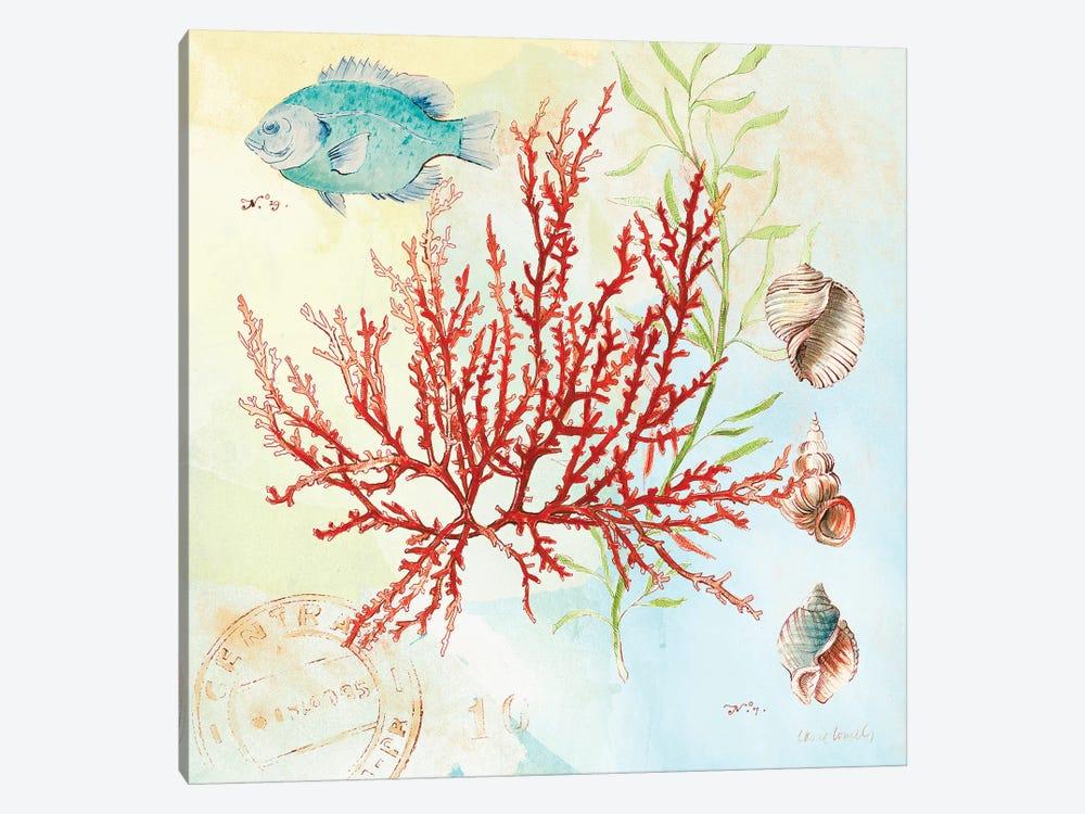 Deep Sea Coral I by Lanie Loreth 1-piece Canvas Artwork