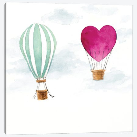 Hot Air Balloons Canvas Print #LNL550} by Lanie Loreth Canvas Print