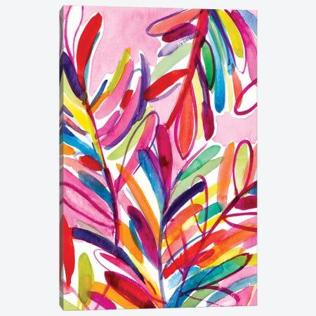 Kaleidoscope Leaves Canvas Print #LNL553} by Lanie Loreth Canvas Print