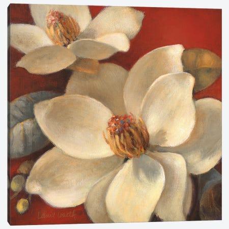 Magnolia Passion I Canvas Print #LNL555} by Lanie Loreth Canvas Wall Art