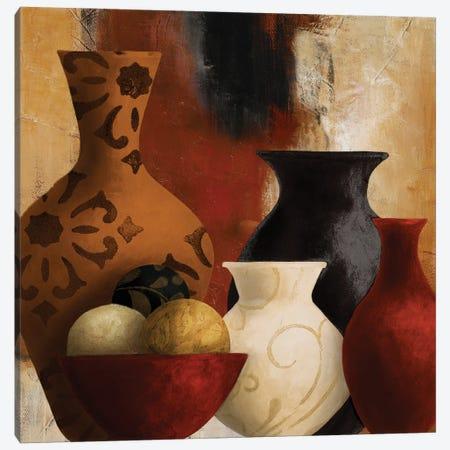 Moroccan Vessels Canvas Print #LNL559} by Lanie Loreth Canvas Art Print