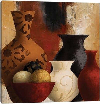 Moroccan Vessels Canvas Art Print