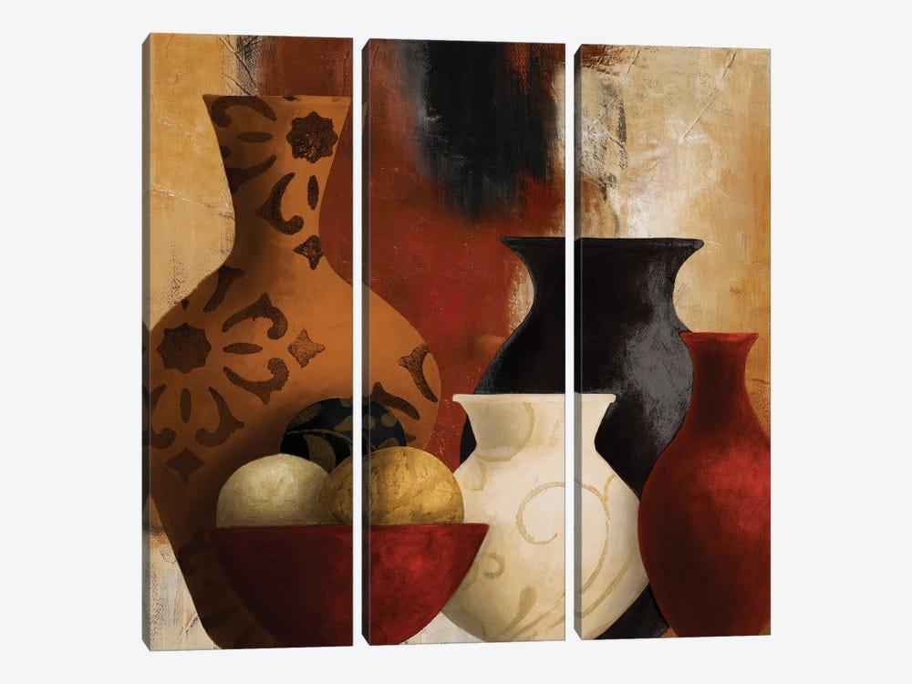 Moroccan Vessels by Lanie Loreth 3-piece Canvas Artwork