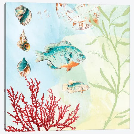 Deep Sea Coral II Canvas Print #LNL55} by Lanie Loreth Canvas Art Print