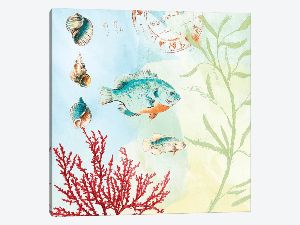 Deep Sea Coral II by Lanie Loreth 1-piece Canvas Art Print
