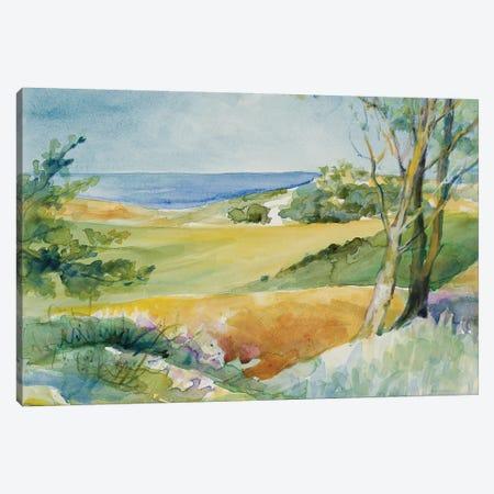 Distant Ocean View Canvas Print #LNL56} by Lanie Loreth Canvas Art Print