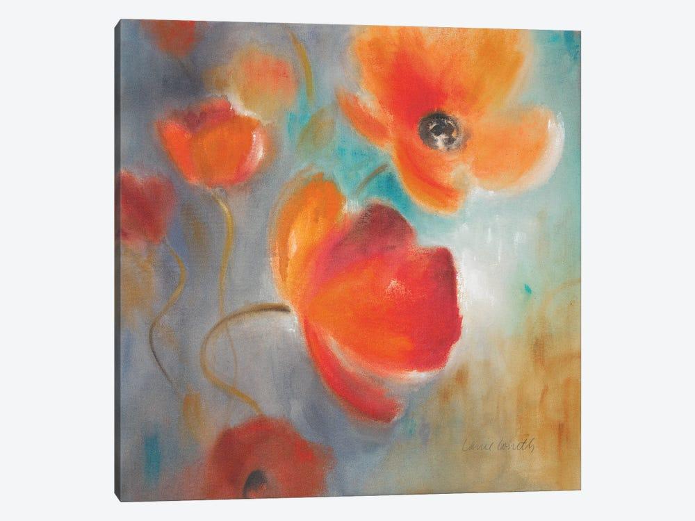 Scarlet Poppies in Bloom I by Lanie Loreth 1-piece Art Print