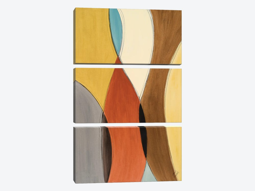 Summer Coalescence I by Lanie Loreth 3-piece Canvas Wall Art