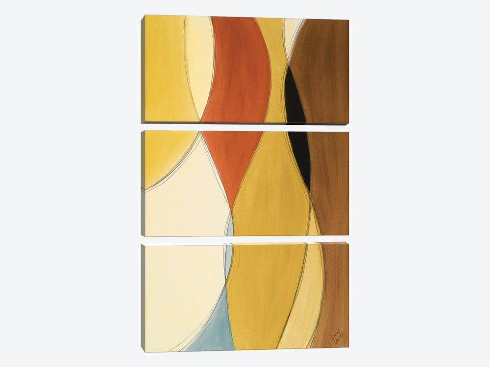 Summer Coalescence II by Lanie Loreth 3-piece Canvas Print