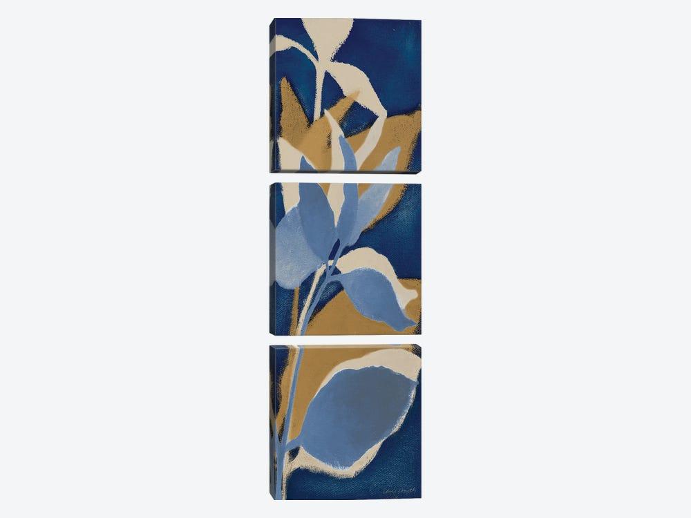 Sur Indigo I by Lanie Loreth 3-piece Canvas Art
