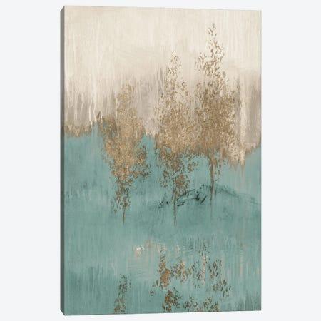 Through the Gold Trees Abstract I Canvas Print #LNL578} by Lanie Loreth Canvas Art Print