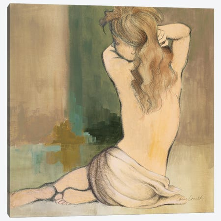 Waking Woman I Canvas Print #LNL582} by Lanie Loreth Canvas Artwork
