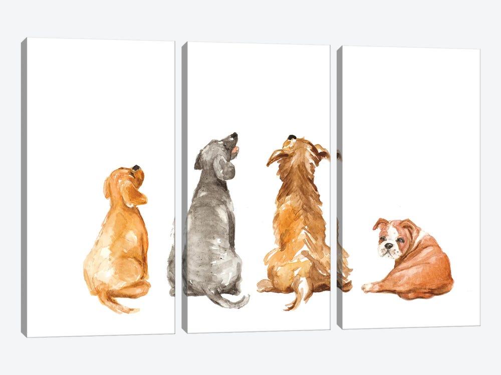 What's That by Lanie Loreth 3-piece Canvas Print