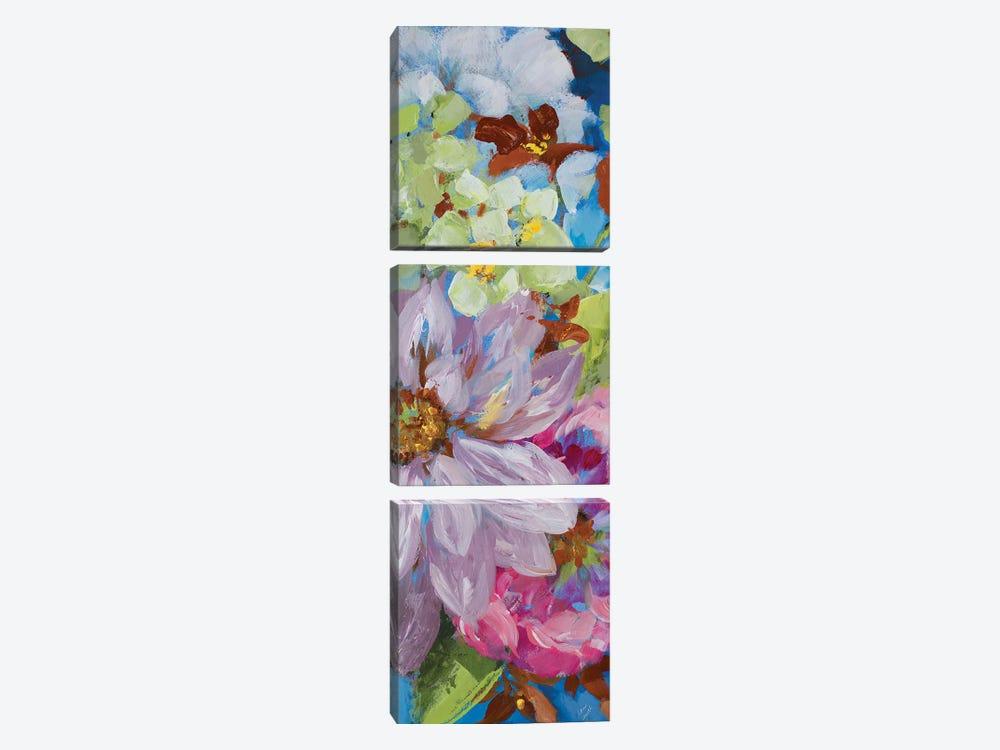 Abundant Garden II by Lanie Loreth 3-piece Canvas Art