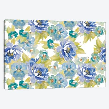 Floral Delicate Blossoms Canvas Print #LNL62} by Lanie Loreth Art Print