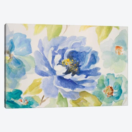 Floral Delicate II Canvas Print #LNL64} by Lanie Loreth Canvas Artwork