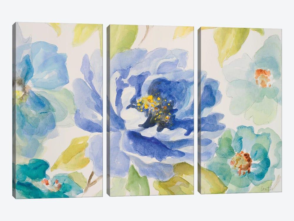 Floral Delicate II by Lanie Loreth 3-piece Canvas Print