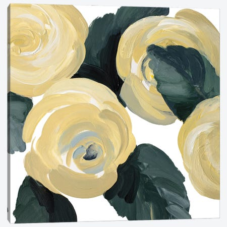 Quietly Bold Blooms Canvas Print #LNL684} by Lanie Loreth Canvas Artwork