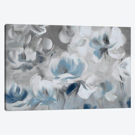 Softly Awakened In Blue Canvas Print #LNL698} by Lanie Loreth Canvas Artwork