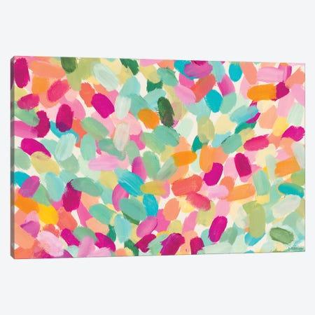 Tropical Dot Party Canvas Print #LNL709} by Lanie Loreth Canvas Artwork