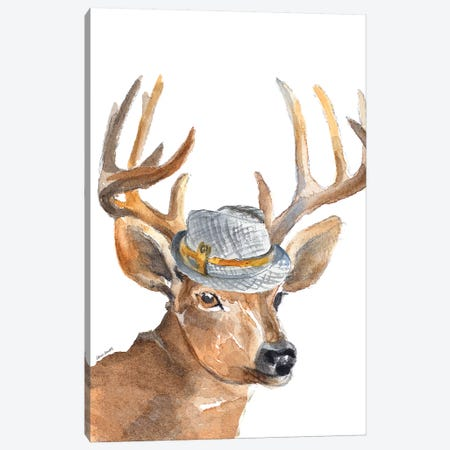 Gentleman Buck Canvas Print #LNL77} by Lanie Loreth Canvas Art Print