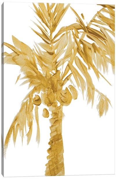 Gold Palms I Canvas Art Print