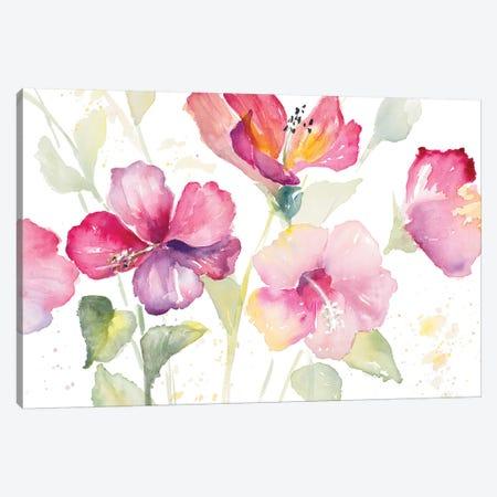 Heavenly Hibiscus Canvas Print #LNL89} by Lanie Loreth Canvas Art Print